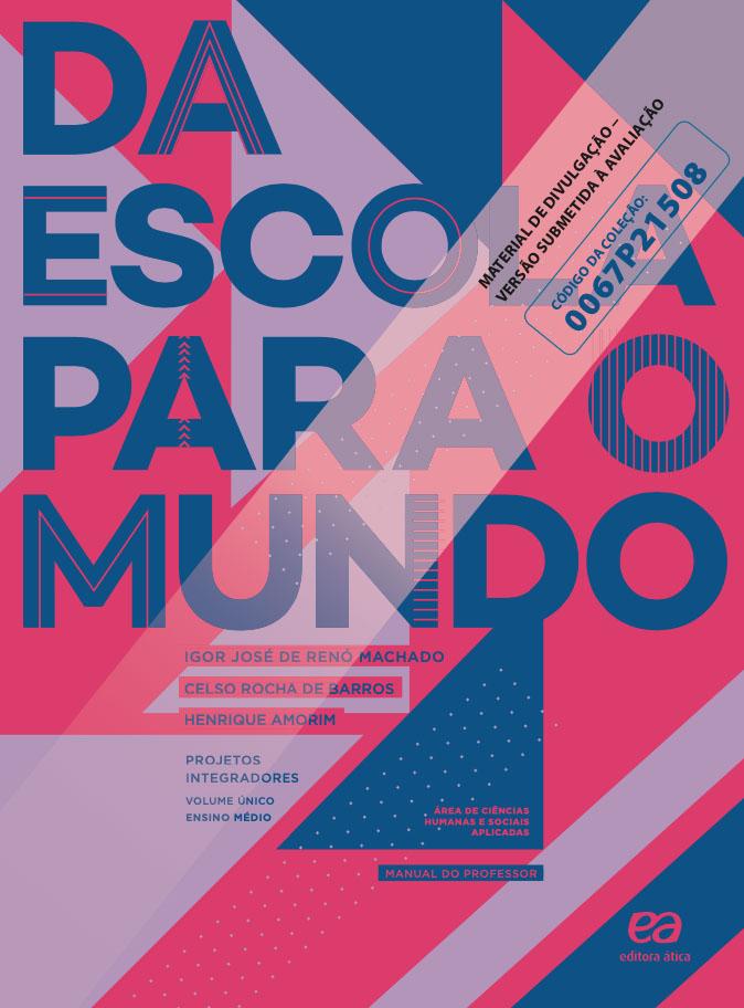 Capa do livro Da Escola para o Mundo - Ciências Humanas e Sociais Aplicadas