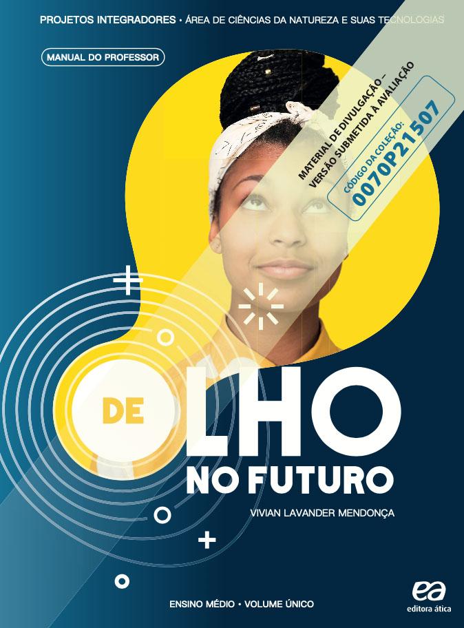 Capa do livro De Olho no Futuro - Ciências da Natureza e suas tecnologias