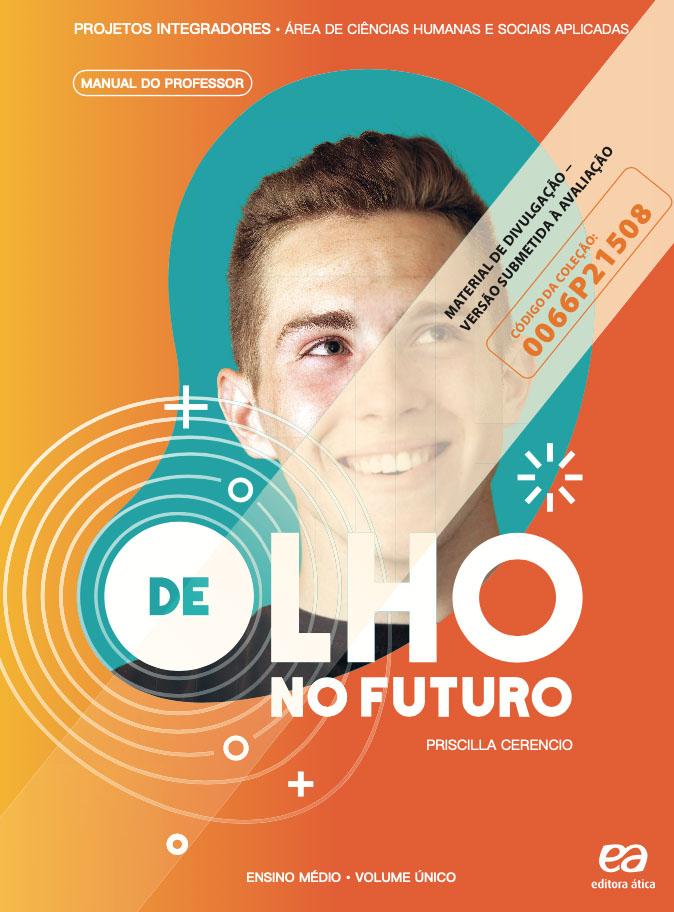 Capa do livro De Olho no Futuro - Ciências Humanas e Sociais Aplicadas