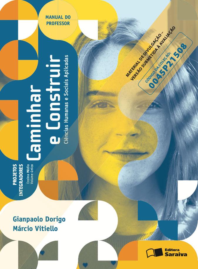 Capa do livro Caminhar e Construir - Ciências Humanas e Sociais Aplicadas