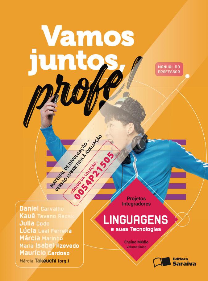 Capa do livro Vamos Juntos Profe! - Linguagens e suas tecnologias