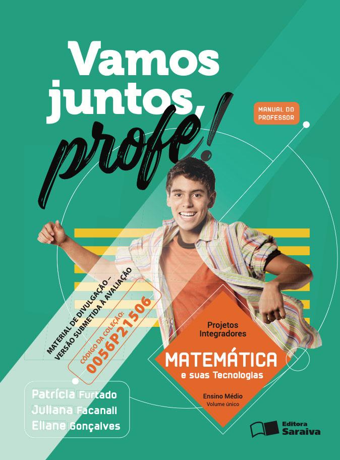 Capa do livro Vamos Juntos Profe! - Matemática e suas tecnologias
