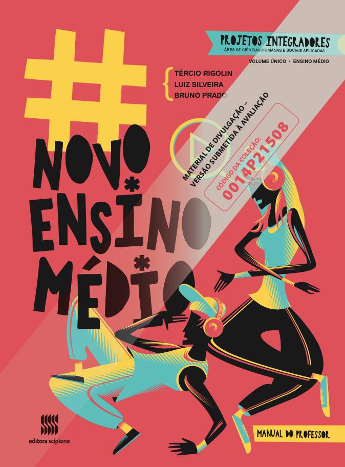 Capa do livro #Novo Ensino Médio - Ciências Humanas e Sociais Aplicadas